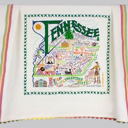 Tennessee dish towel -  - D. Luxe Home Nashville, TN