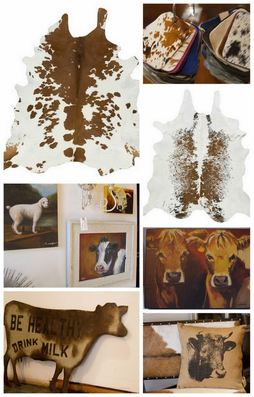 D Luxe Home Nashville, TN Cow Hide Rugs