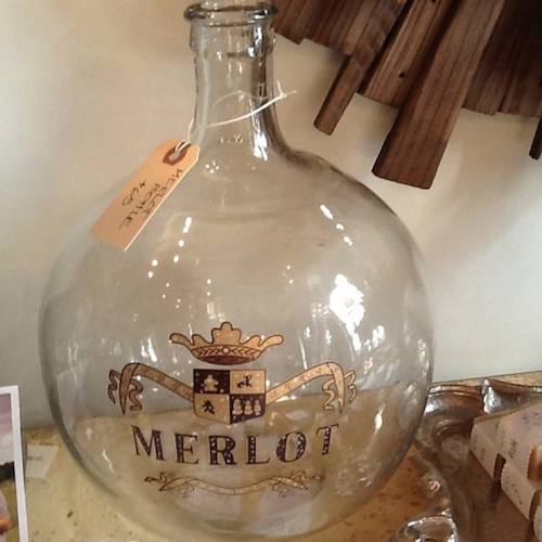 Merlot Decanter -  - D. Luxe Home Nashville, TN