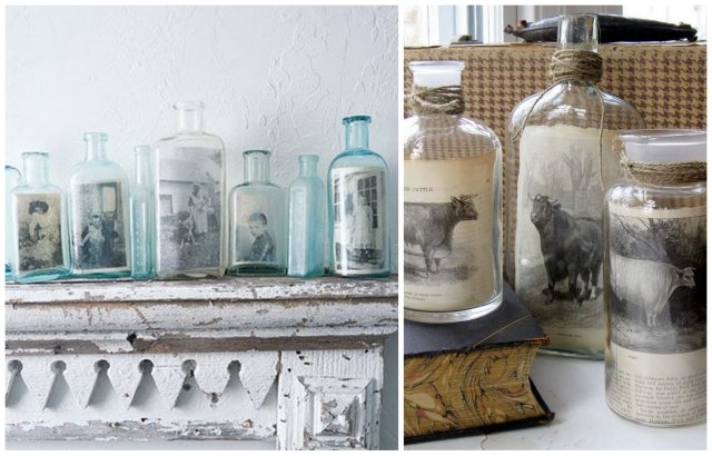 5 Ways to Repurpose Old Bottles - D. Luxe Home Nashville, TN
