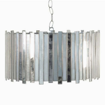 Mirrored antique pendant D. Luxe Home Nashville light fixtures