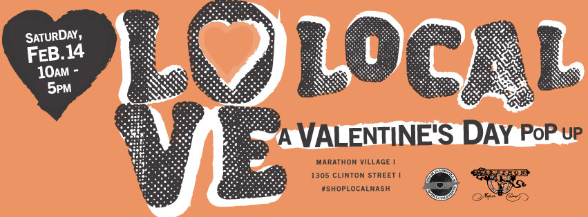 Love Local A Valentine's Day Pop Up at Marathon Village