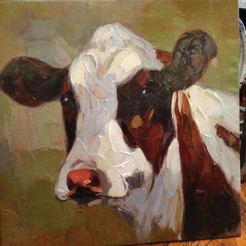 Cow painting -  - D. Luxe Home Nashville, TN
