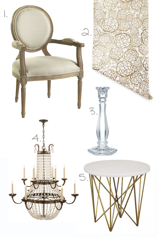 5 Easy Ways to Add Glamour to Your Home - D. Luxe Home - Nashville, TN
